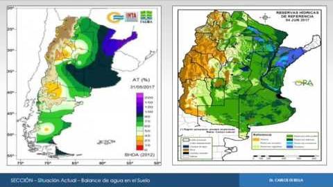 Embedded thumbnail for Carlos Di Bella (INTA Castelar) Perspectivas climáticas para la próxima campaña