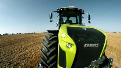 Embedded thumbnail for CLAAS XERION 4500